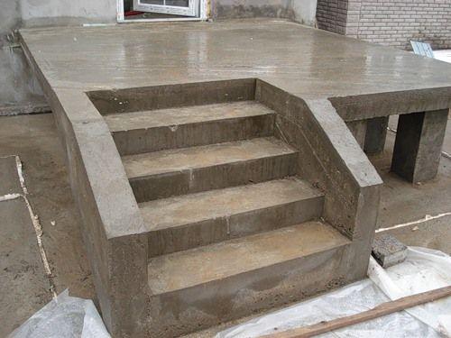 Крыльца из бетона технология утепления керамзитобетона