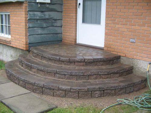 бетон крыльцо