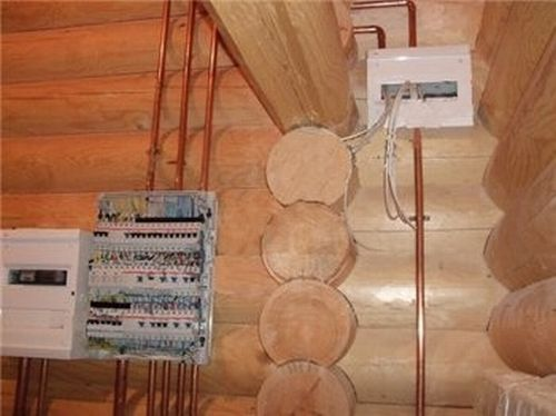 Проводка в доме своими руками в деревянном